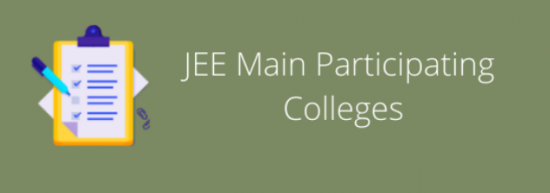 JEE Main 2021 Participating Colleges