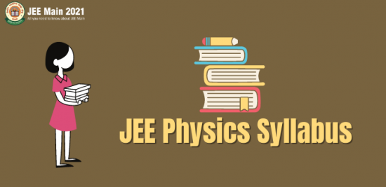 JEE Main 2021 Physics Syllabus