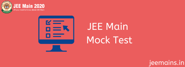 JEE Main Mock Test