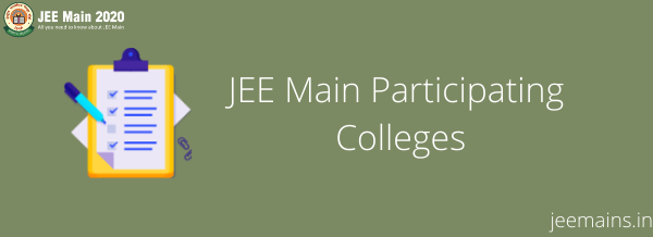 JEE Main Participating Colleges