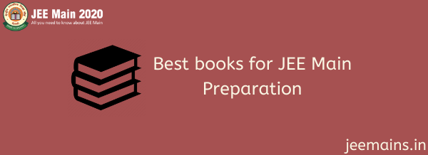 Best books for JEE Main Preparation