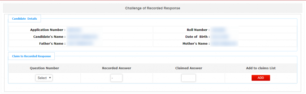 Challenge of Recorded Response