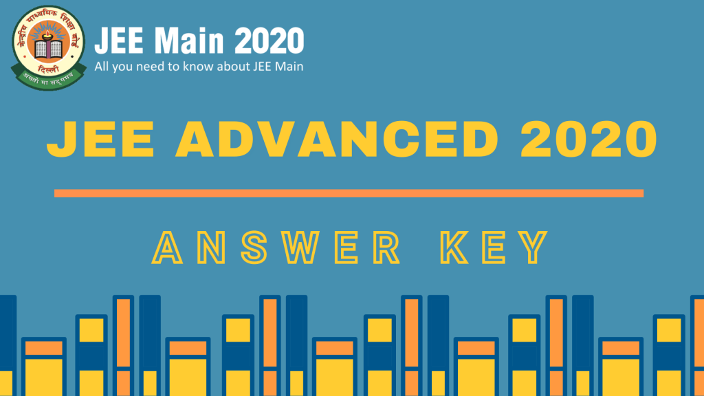 JEE Advanced 2020 Answer key