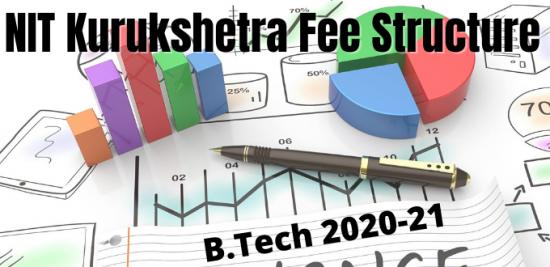 NIT Kurukshetra Fee Structure For B.Tech Admission 2020-21