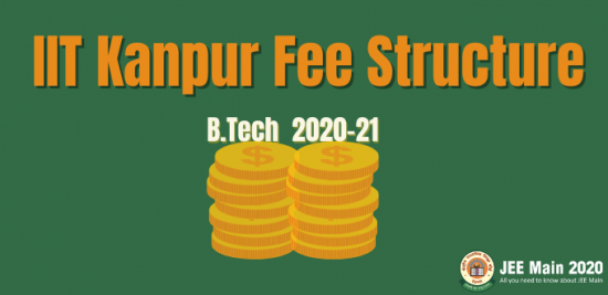 IIT Kanpur Fee Structure