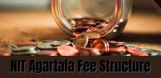 NIT Agartala Fee Structure