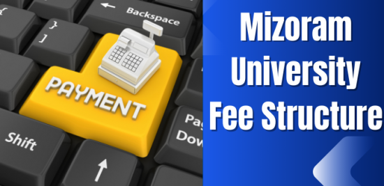 Mizoram University Fee Structure