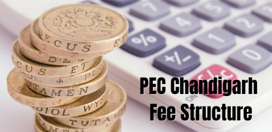 PEC Chandigarh Fee Structure