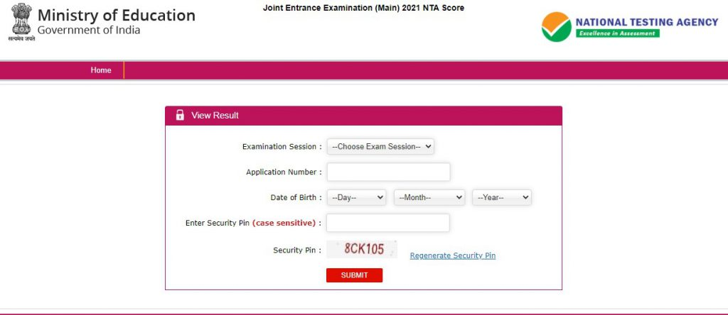 Check JEE Main 2021 Result Here